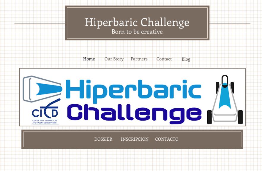 Desafío educativo Hiperbaric Challenge