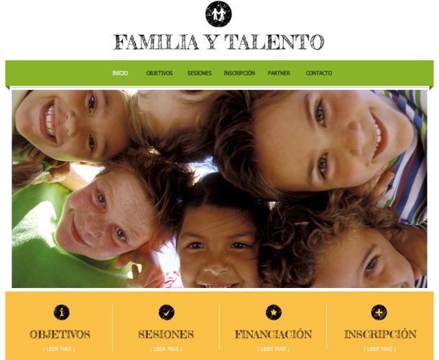 Familia y talento