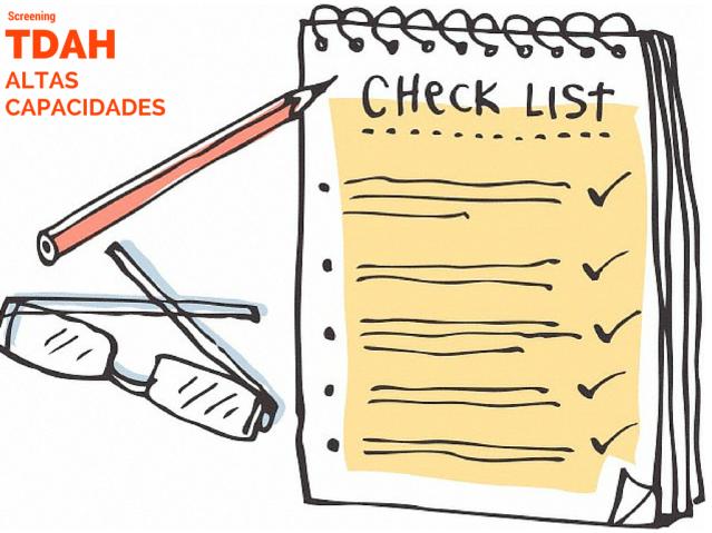 Checklist AACC y TDAH